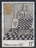 GRANDE BRETAGNE N° 805 O Y&T 1976 500e Anniversaire De L'impression Du 1er Livre - 1952-.... (Elisabetta II)
