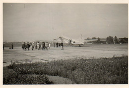 SABENA  VLIEGTUIG   TE   ZURICH     1947  -  9  OP 6 CM - Unclassified