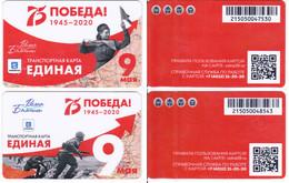 Transport  Card  Russia. Kaliningrad 05.2020 - Russland