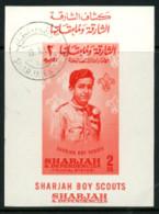 """Sharjah 1964 """"Boy Scout"""" - Briefmarken"""