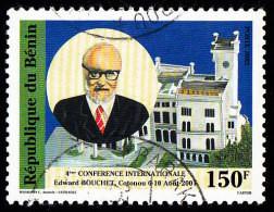 BENIN - Scott #1219 Abdus Salam / Used Stamp - Benin – Dahomey (1960-...)