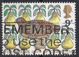 GRANDE BRETAGNE N° 845 O Y&T 1977 NOEL Les 12 Jours De Noël - 1952-.... (Elisabetta II)