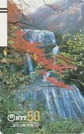 TC Ancienne JAPON / NTT 250-037 - CASCADE - WATERFALL JAPAN Front Bar Phonecard - WASSERFALL Balken TK - Japon
