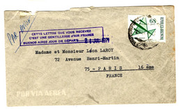 38343 - ...GENTILLESSE D AIR FRANCE... - Cartas