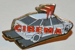 Rare Pin's Voiture Citroën Cibema Garage à Rezé (35) - Citroën