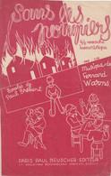 (POM)sans Les Pompiers , Musique FERNAND WARNS , Paroles PAUL BREBANT - Noten & Partituren