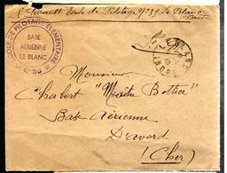 38371 - ECOLE DE  PILOTAGE  B.A. LE BLANC - WW II