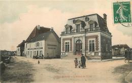 SOULAINES HOTEL DE VILLE - Autres Communes