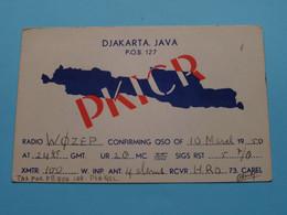 PKICR Djakarta JAVA Indonesia > WOZEP > USA Colorado 1950 ( See / Voir Photo ) - Radio Amatoriale