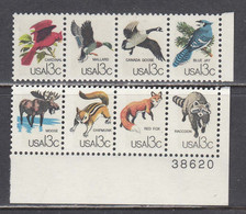 USA 1978 - International Philatelic Exhibition CAPEX'78: Faune, Set Of 10 Stamps, MNH** - Estados Unidos