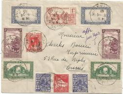 ALGERIE DIVERS LETTRE BONE 9.4.1940 POUR TUNIS - Cartas