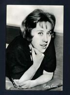 Cartolina Cantanti - Betty Curtis - Singers & Musicians