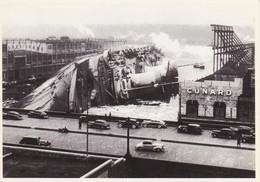 BATEAU - NAVIRE PAQUEBOT CHAVIRE - MARINE DISASTER - Passagiersschepen