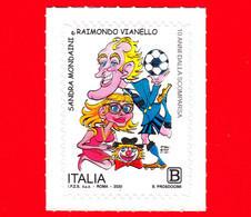 Nuovo - MNH - ITALIA - 2020 - 10 Anni Della Morte Di Sandra Mondaini E Raimondo Vianello – Caricatura - B - 2011-...: Ungebraucht