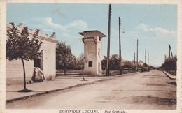 ALGERIE DOMINIQUE LUCIANI RUE CENTRALE - Altre Città