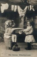 Enfants (Kinder) Die Kleinen Wäscherinnen (les Petites Blanchisseuses) 1909 - Carte P.H. 4649-5 - Taferelen En Landschappen