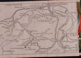 10930    PLAN   VERDUN  14 18        NON  ECRITE - Oorlog 1914-18