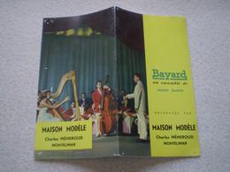 Catalogue Publicitaire Vêtements BAYARD, Maison Modèle Charles Méneroud à Montélimar. 1958 - Publicidad