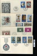 BM2451, Griechenland, O, 1963, 4 FDC, - FDC