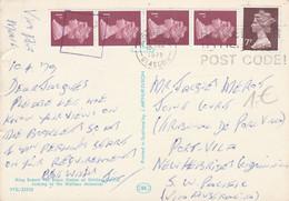 GB AFFRANCHISSEMENT COMPOSE SUR CARTE DE BISHOPBRIGGS  POUR LA FRANCE 1979 - 1952-.... (Elisabetta II)