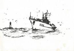 Carte De Voeux Doule M 713 - Krieg