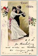 52824357 - 1885 Tanz Frau - Neujahr