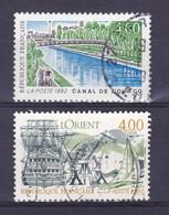 TIMBRE FRANCE N° 2764/2765 OBLITERE - Usati