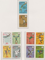 Kuwait 1980 Olympic Games In Moscow 10 Stamps MNH/** (H57) - Summer 1980: Moscow