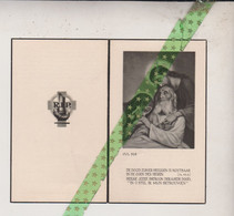 Georges Raymond Verniers-Van Ruyskensvelde, Sottegem 1895, 1959 - Esquela