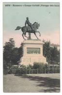 LA379    Siena - Monumento A Garibaldi (Passeggio Della Lizza) - Vg. 1913 FP - Siena