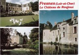 """FRESNES  ( 41 )  CONTRES   -  LE  CHÂTEAU  DE ROUJOUX  """"  CPM   ( 20 / 10 / 272 ) - Andere Gemeenten"""