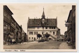 DC4484 - Ak Ochsenfurt Am Main Rathaus Zigarren Kolonialwaren - Ochsenfurt