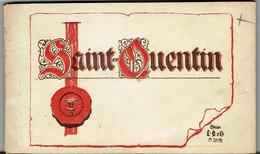CPA - 02 -  SAINT QUENTIN - CARNET 19 Cartes - Voir Liste - - Saint Quentin