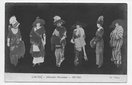 HIVER - Silhouettes Parisiennes - Ecrite Decembre 1912 - Moda