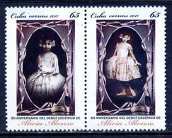Cuba 2011 / Classical Ballet Alicia Alonso MNH Klassisches Ballett Baile Clásico / C4619  5-64 - Baile