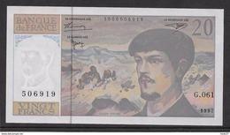 France 20 Francs Debussy - Neuf - 1997 - Fayette 66 Ter - 2 - 1962-1997 ''Francs''