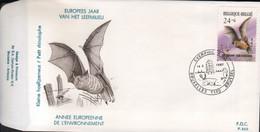 BUZIN / FDC / COB 2245 / PETIT RHINOLOPHE - 1985-.. Pájaros (Buzin)