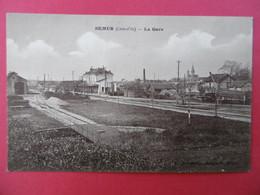 SEMUR  ( 21 ) La Gare - Semur