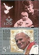 Poland 2020 Pope John Paul II, Religion, Christianity, Joint Issue With The Vatican Post Office, With Label MNH** - Emissioni Congiunte