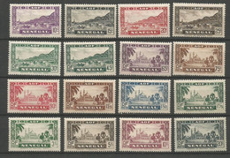 Timbre De Colonie Française Sénégal Neuf * N 118/137 - Nuovi