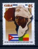 Cuba 2014 / Diplomatic Relations Benin Flags MNH Banderas Relaciones Diplomáticas Benin / C7424  38-46 - Sellos