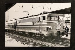 PhotoLocomotive BB 16000 16022 SNCF Flèche D'or Amiens 1970 France Train Gare - Eisenbahnen