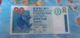 HONG KONG 20 DOLLARS DOLARES 2003 P291a VF - Hong Kong