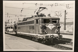 PhotoLocomotive BB 25500 25507 SNCF VersaillesChantiers 1972 France Train Gare - Eisenbahnen