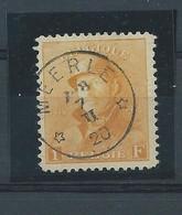 N° 175 OBLITERE MEERLE RELAI - 1919-1920  Cascos De Trinchera
