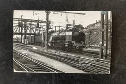PhotoLocomotive Vapeur 231 K 24 VierzonSNCF Sud Ouest 1966 France Train Gare - Eisenbahnen