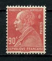 FRANCE 1927 N° 243 ** Neuf MNH Marque Rouge Au Dos TTB C 4 €  Berthelot Chimiste Et Homme Politique - Unused Stamps