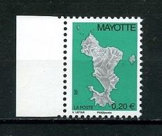 ... RARE... MAYOTTE 2004 N° 160A ** Cote MICHEL 300 € Neuf MNH LUXE Carte De L'île Philaposte - Neufs