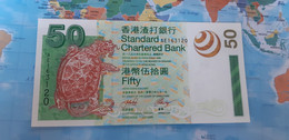HONG KONG 50 DOLLARS DOLARES 2003 P292a UNC - Hong Kong
