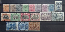 BELGIE   1915   'Albert I '     Nr. 135 - 149      Mooi  Gestempeld    Zie Foto   CW  200,00 - 1915-1920 Albert I